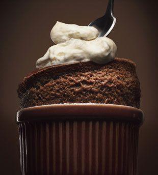 Soufflé Chocolat et Crème Nougat
