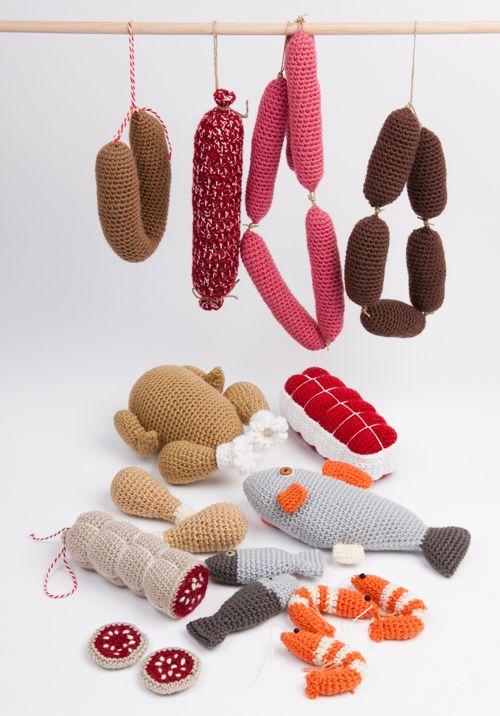 Aliments crochet diy