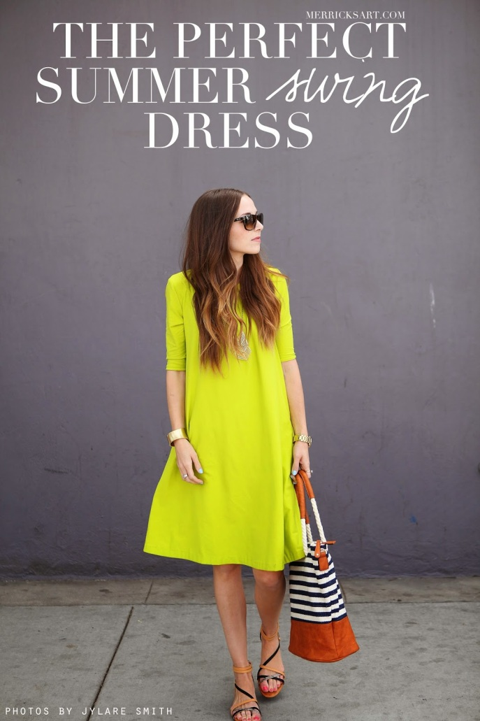 the perfect summer swing dress