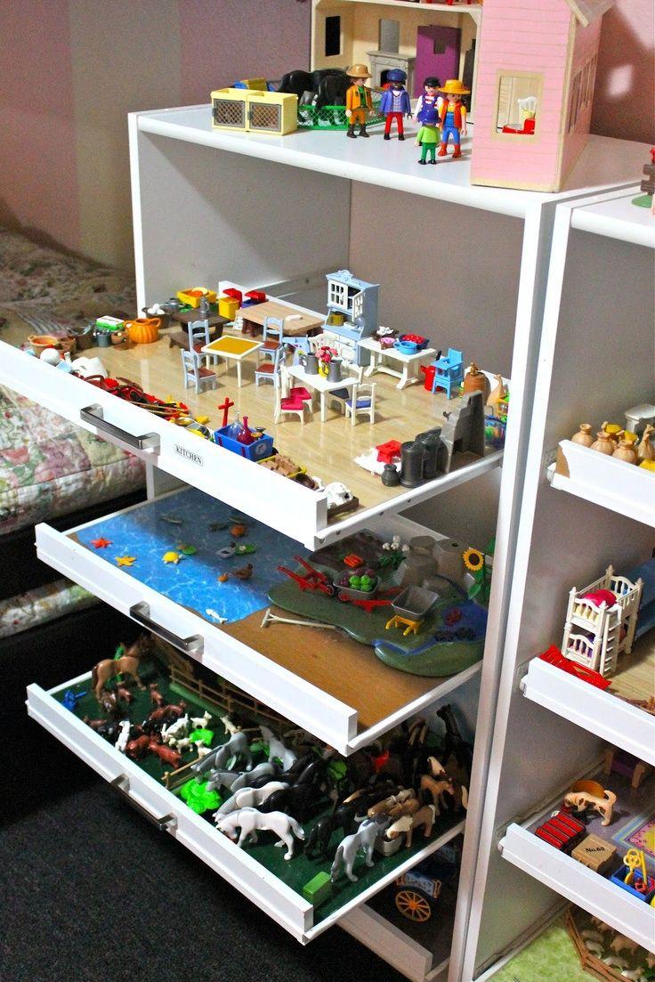 brico deco maison de poupée playmobil