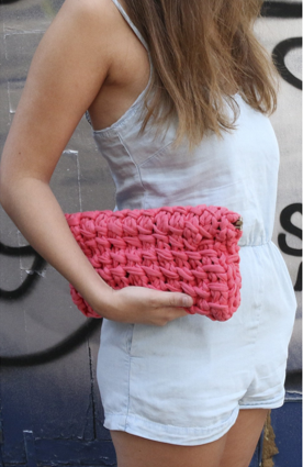 Koala Clutch We are knitters kit de tricot