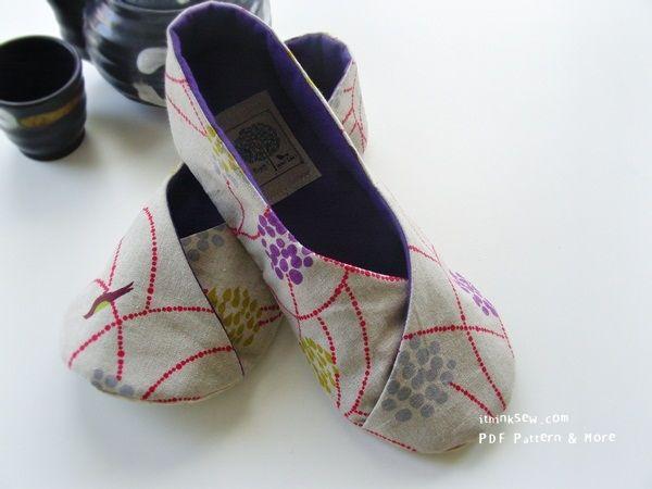 chaussons kimono couture