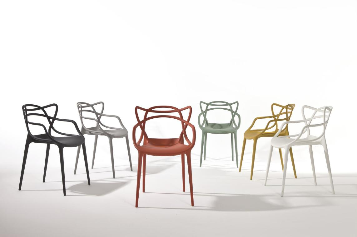 Masters Kartell Philippe Starck et Eugeni Quitllet. Création 2009