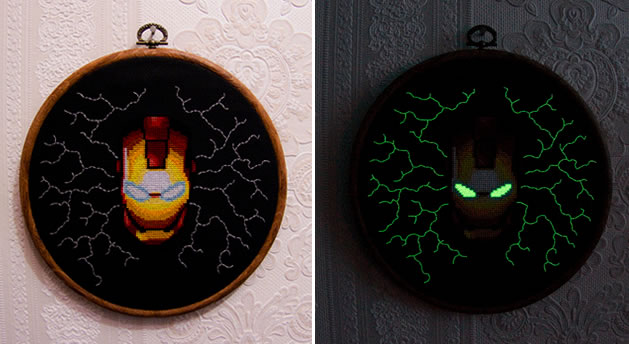151028 glow_in_the_dark_ironman_crossstitch